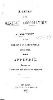 Minutes of the General Association of Connecticut