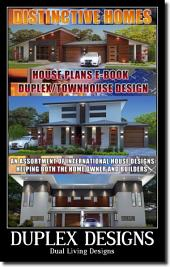 Home Design Book-Duplex Designs -Townhouse Designs-Floor Plans-House Plans: House Plans FOR DUPLEX HOMES