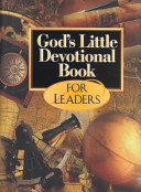 God S Little Devotional Book For Leaders