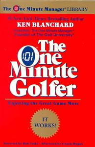 The One Minute Golfer Book