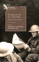 Reading and the First World War PDF