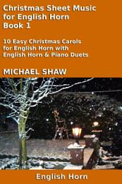 Cor Anglais: Christmas Sheet Music For English Horn Book 1