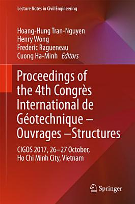Proceedings of the 4th Congrès International de Géotechnique - Ouvrages -Structures