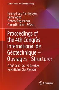 Proceedings of the 4th Congr  s International de G  otechnique   Ouvrages  Structures