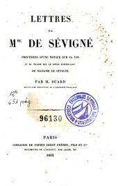 Lettres de Mme de Sévigné