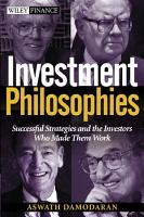 Investment Philosophies PDF