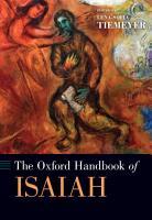 The Oxford Handbook of Isaiah PDF
