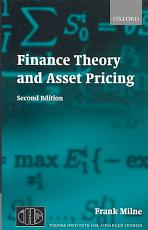 Finance Theory and Asset Pricing PDF