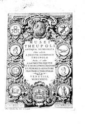 Musei Theupoli antiqua numismata, olim collecta a Joan. Domin. Theupolo: Volume 1