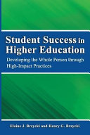 Student Success in Higher Education Book