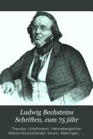 Ludwig Bechsteins Schriften PDF