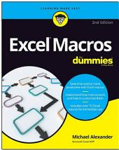 Excel Macros For Dummies: Edition 2