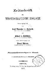 Zeitschrift für wissenschaftliche Zoologie: Band 29