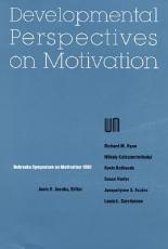 Developmental Perspectives on Motivation PDF