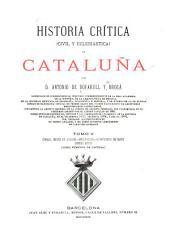 Historia crítica (civil y eclesiástica) de Cataluña: Volumen 5