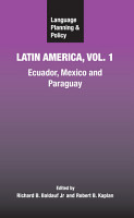 Language Planning and Policy in Latin America PDF
