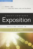 Exalting Jesus in 1 2 3 John PDF