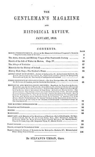 Gentleman s Magazine  Or Monthly Intelligencer PDF