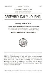 Journal of the Assembly, Legislature of the State of California: Volume 5