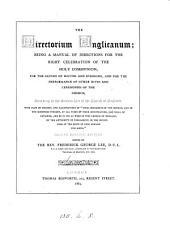 Directorium Anglicanum