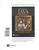 Introduction to Java Programming and Data Structures  Comprehensive Version  Student Value Edition Plus MyProgrammingLab with Pearson EText   Access Card Package PDF