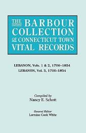 The Barbour Collection of Connecticut Town Vital Records: Volume 22