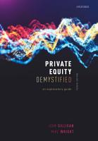 Private Equity Demystified PDF