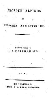 De medicina Aegyptiorum: 2