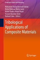 Tribological Applications of Composite Materials PDF
