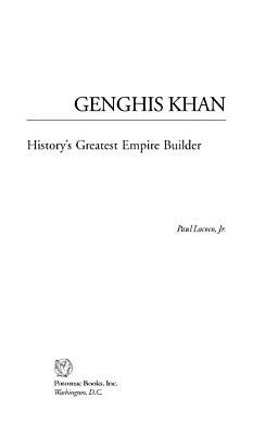 Genghis Khan PDF