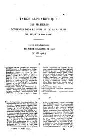 Bulletin des lois de la République Française: Volume 20