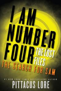 I Am Number Four  The Lost Files  The Search for Sam Book