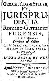 Iurisprudentia Romano-Germanica forensis