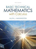 Basic Technical Mathematics with Calculus Plus NEW MyMathLab with Pearson EText    Access Card Package