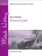 Shenandoah eBook: Vocal score