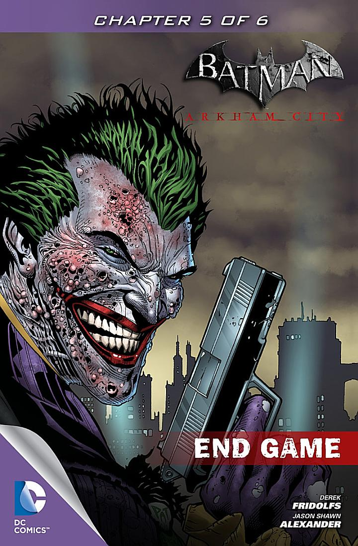 Batman: Arkham City End Game #5