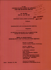 Katsoulis V. Immigration and Naturalization Service: Issues 96-1824