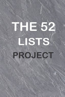 The 52 Lists Project  a Year of Weekly Journaling Inspiration Book