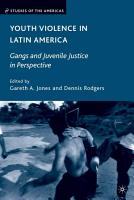 Youth Violence in Latin America PDF