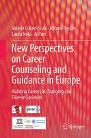 New perspectives on career counseling and guidance in Europe PDF