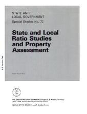 State and Local Ratio Studies and Property Assessment: Volume 3