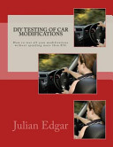 DIY Testing of Car Modifications