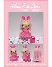 Kleine Roze Dame Amigurumi Haakpatroon