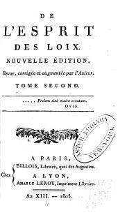 Oeuvres de Montesquieu: Volume2