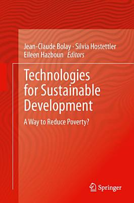 Technologies for Sustainable Development PDF