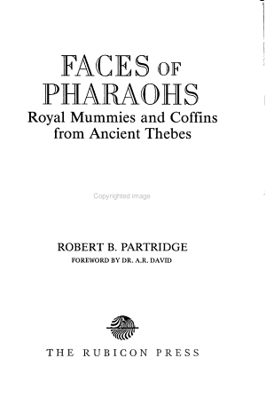 Faces of Pharaohs PDF