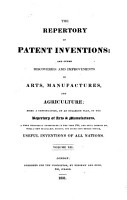 Repertory of patent inventions and other discoveries and improvements in arts  manufactures and agriculture PDF
