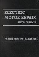 Electric Motor Repair PDF