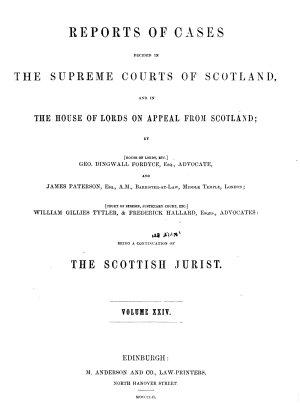 The Scottish Jurist PDF