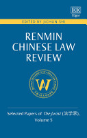 Renmin Chinese Law Review PDF
